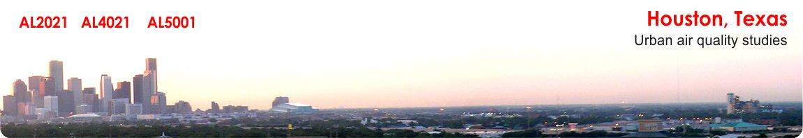 Houston, Texas - Urban air quality studies